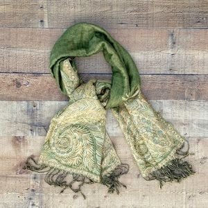 ✨SCARF -Simply Gorgeous in Greens & Gold